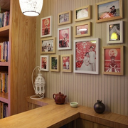 客厅设计照片墙