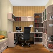 书柜设计背景墙图