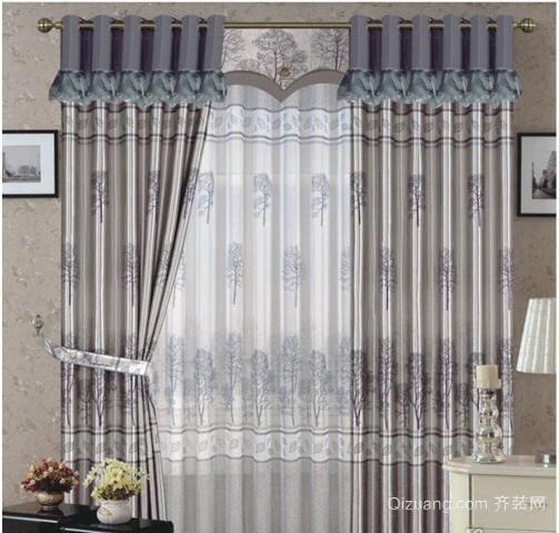 美式隔音窗帘效果图