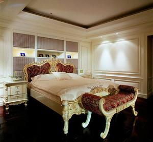 100平米巴洛克风格卧室装修效果图