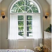 窗帘设计飘窗图