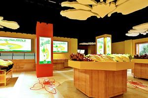 高端大气水果店设计装修效果图