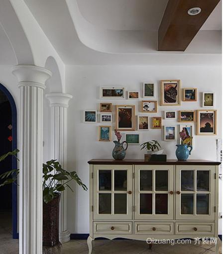 宜加简约照片墙装修效果图