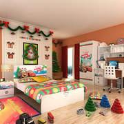 儿童房设计整体图