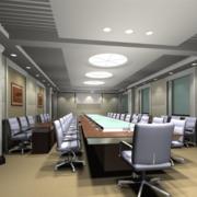 会议室设计吊顶图