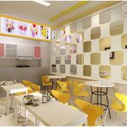 奶茶店设计整体图