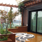 屋顶花园设计造型图
