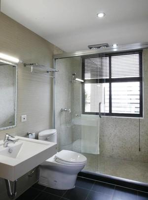 现代简约卫生间设计装修效果图