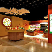 水果店设计吊顶图