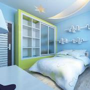 儿童房设计背景墙图