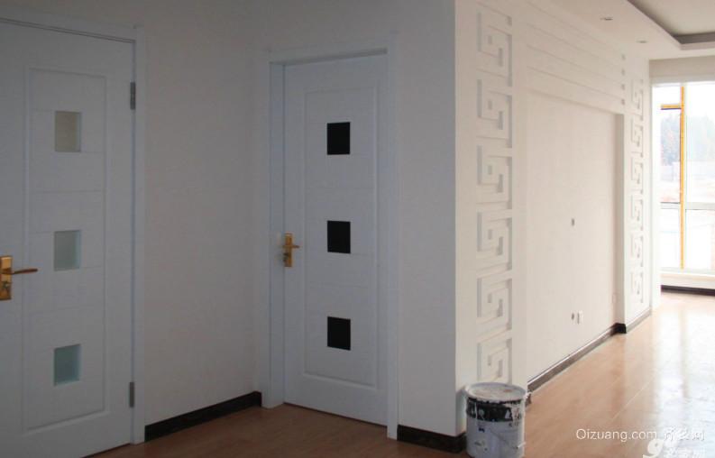 客厅宜家烤漆门装修效果图