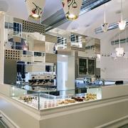 奶茶店设计背景墙图