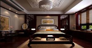 中式古典苏州园林风格别墅装修效果图