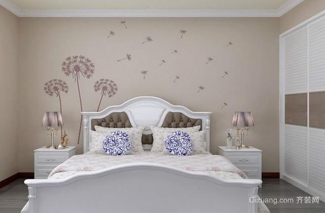 室内兰舍硅藻泥背景墙装修效果图