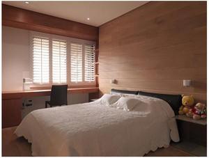 现代简约日式实木地板装修效果图