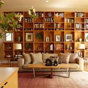 唯美的书柜整体设计