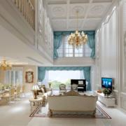 窗帘设计客厅图