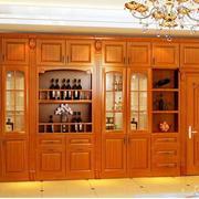 精致的酒柜造型图