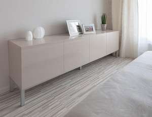 现代简约单身公寓装修风格效果图