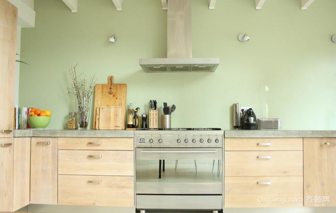 简欧厨房装修风格效果图