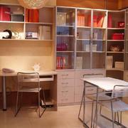 现代时尚书柜设计