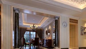 石膏欧式风格罗马柱装修效果图