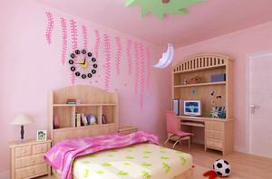 小户型卧室墙绘装修效果图