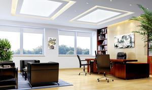 2015现代办公室设计装修效果图