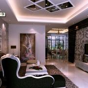 现代室内整体设计图