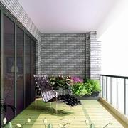 阳台设计背景墙图