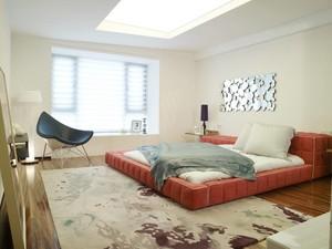 90平米小户型日式卧室榻榻米背景墙装修效果图