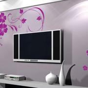 现代电视墙整体设计