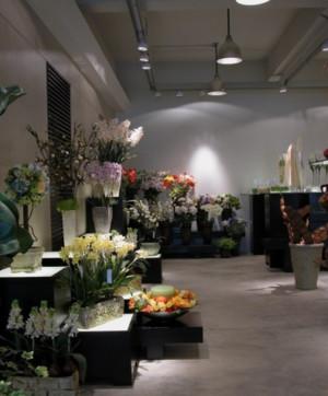 欧式古典花店装修效果图