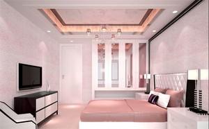 欧式复式楼客厅电视背景墙墙衣装修效果图