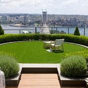 屋顶花园设计实景图
