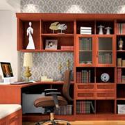现代书柜整体设计