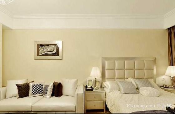 现代单身公寓欧式风格装修效果图