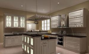 欧式精致厨房装修效果图