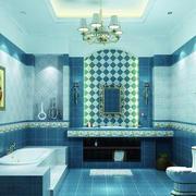现代卫生间设计整体图