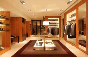 新中式服装店装修设计效果图