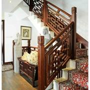 现代楼梯实景图