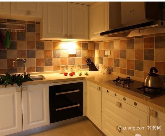 美式厨房装修设计效果图