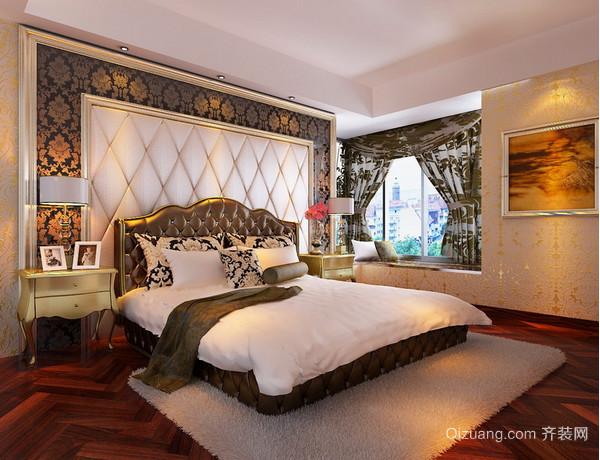 奢华典雅卧室装修效果图