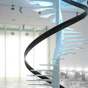 纯色调楼梯设计图