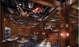 酒吧设计整体图
