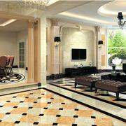 精美的室内地板设计