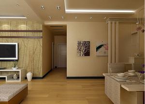 大户型客厅led射灯装修效果图