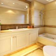 浴室设计色调搭配