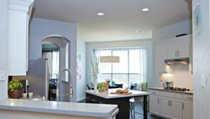 全新简欧风格厨房装修效果图