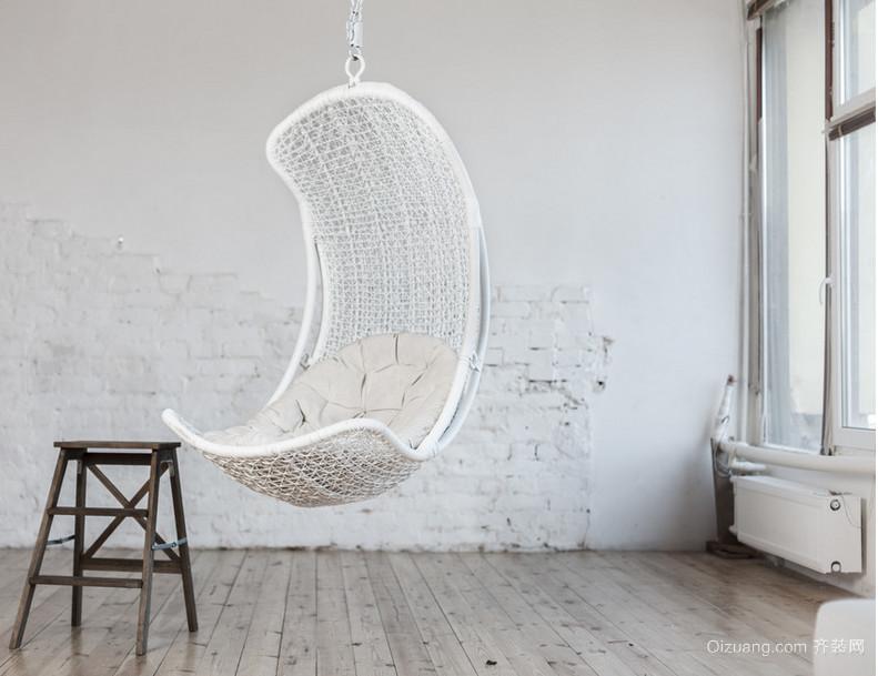 休闲式吊椅装修效果图
